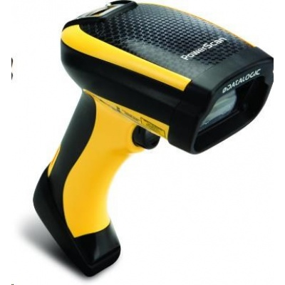 Datalogic PowerScan PD9330, 1D, AR, multi-IF, black, žlutá