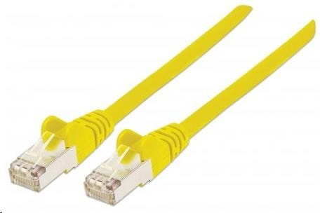 Intellinet Patch kabel, Cat6, S/FTP, LSOH, 30m, žlutý