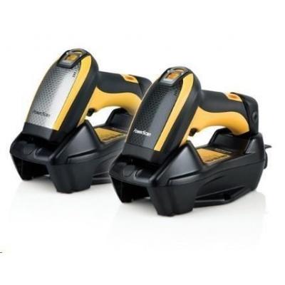 Datalogic PM9100, 1D, multi-IF, kit (RS232), RB, black, žlutá