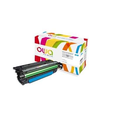 OWA Armor toner pro HP Color Laserjet Ese CM4540, 12500 Stran, CF031A, modrá/cyan