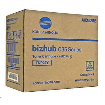 Minolta Toner TNP-22Y, žlutý do bizhub C35, C35P (6k)