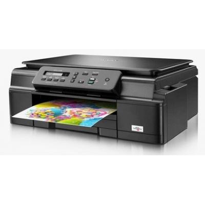 BROTHER multifunkce inkoustová DCP-J105 - A4, 11ppm, 64MB, 6000x1200, USB, GDI, WiFi, Ink Benefit, 100listů, bezokrajový
