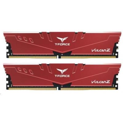DIMM DDR4 16GB 3000MHz, CL16, (KIT 2x8GB), T-FORCE VULCAN Z, Red