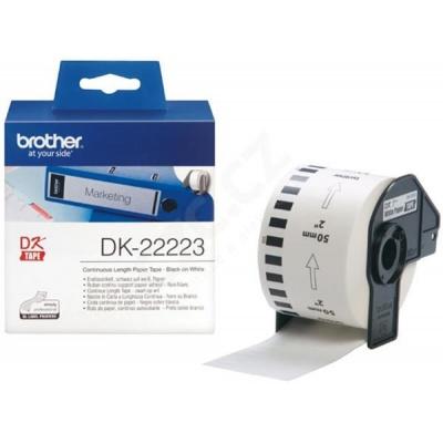 BROTHER DK-22223 papírová role  (50mm x 30.48 m)
