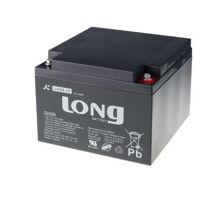 Long 12V 24Ah olověný akumulátor DeepCycle GEL F3