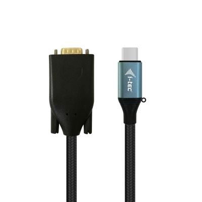 iTec USB-C USB-C VGA Cable Adapter 1080p / 60 Hz 150cm