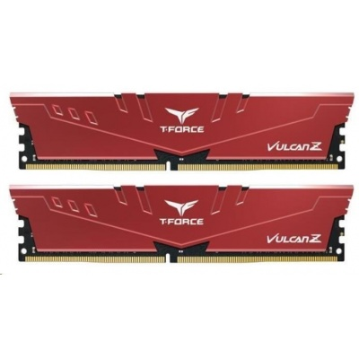 DIMM DDR4 32GB 3200MHz, CL16, (KIT 2x16GB), T-FORCE VULCAN Z, Red
