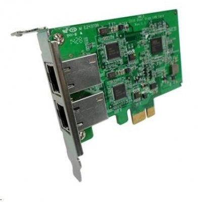 QNAP LAN-1G2T-I210 Síťová rozšiřující karta sítě 1 GbE se dvěma porty RJ-45