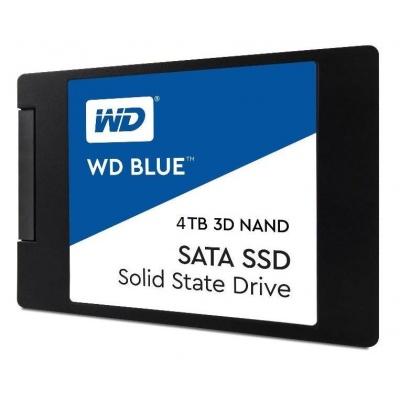 "WD BLUE SSD 3D NAND WDS400T2B0A 4TB SATA/600, (R:560, W:530MB/s), 2.5"""