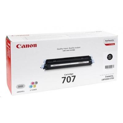 Canon LASER TONER black CRG-707BK (CRG707BK) 2 500 stran*