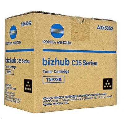 Minolta Toner TNP-22K, černý do bizhub C35, C35P (6k)