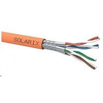 Instalační kabel Solarix SSTP, Cat7A, drát, LSOH, cívka 500m SXKD-7A-1200-SSTP-LSOH