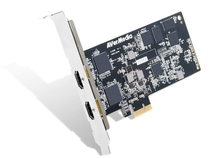 AVERMEDIA CL332-HN, 2-kanálová HDMI Full HD HW H.264 PCIe střihová karta