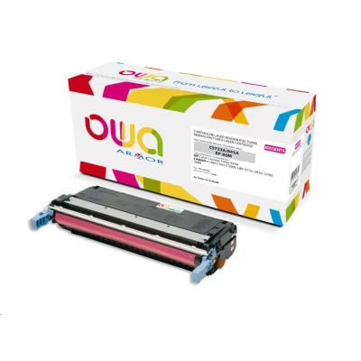 OWA Armor toner pro HP Color Laserjet 5500, 5550, 12000 Stran, C9733A, červená/magenta