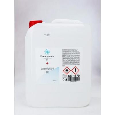 !!VÝHODNÁ NABÍDKA!! - 5x Emspoma dezinfekční gel 5000ml - čirý (246,70,-/ks)