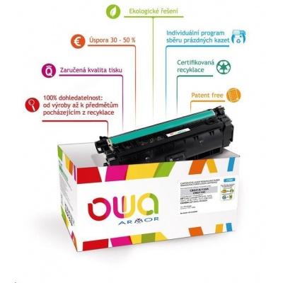 OWA Armor toner pro HP Color Laserjet Ese M855, 31500 Stran, CF312A, žlutá/yellow