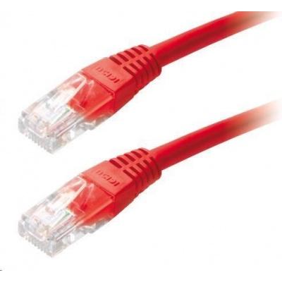 Patch kabel Cat6, UTP - 3m, červený