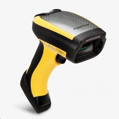Datalogic PowerScan PD9531-DPM, 2D, HD, DPM, multi-IF, kit (USB), black, žlutá