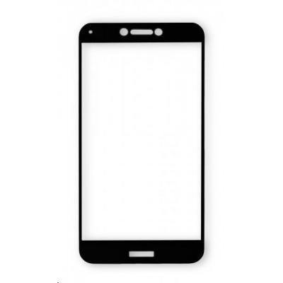 Aligator ochrana displeje Glass Print pro Samsung Galaxy A7 2018, celoplošné lepení, černá