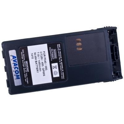 AVACOM baterie pro radiostanice Motorola P040, P060 Ni-MH 7,5V 1450mAh
