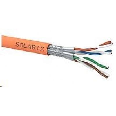 Instalační kabel Solarix SSTP, Cat7, drát, LSOH, cívka 500m SXKD-7-SSTP-LSOH