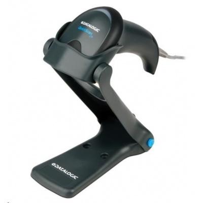 Datalogic QuickScan Lite QW2400, 2D, WA, USB, kit (USB, kroucený), black