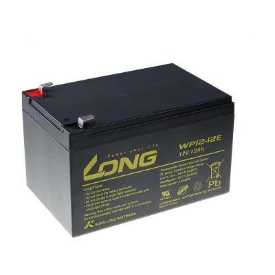 Long 12V 12Ah olověný akumulátor DeepCycle AGM F2