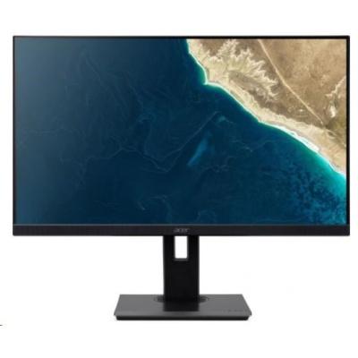 """ACER LCD B247YBMIPRZX - 23.8""""(60cm), 100M:1, 250cd/m2, 178°/178°, 4ms, VGA, HDMI, USB, DP, black,3r on-site"""