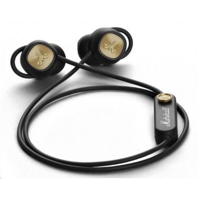 MARSHALL MINOR II  černá, Bluetooth pecková sluchátka do uší s ear-fit systémem