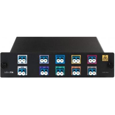 MikroTik CWDM-MUX8A, CWDM MUX/DEMUX modul pro 8 optických tras