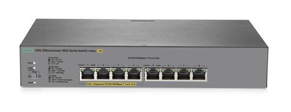 HPE 1820 8G PoE+ (65W) Switch