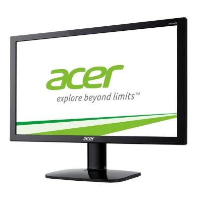 "ACER LCD KA220HQbid, 55cm (21.5"") TN LED, 1920 x 1080, 100M:1, 200cd/m2, 5ms, VGA+HDMI+DVI (w/HDCP), Black EcoDisplay"