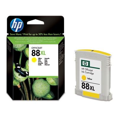 HP 88XL Yellow Ink Cart, 17,1 ml, C9393Ae