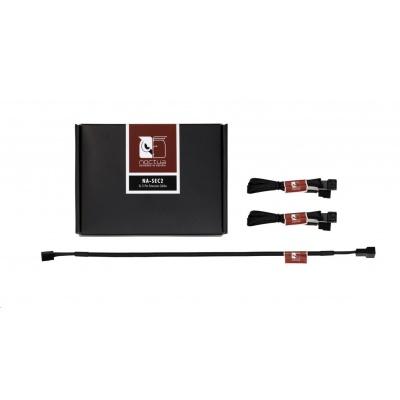 NOCTUA NA-SEC2 - sada 3 ks prodlužovacích kabelů pro 3pin ventilátory