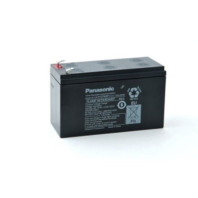 Baterie - Panasonic LC-P127R2P1 (12V/7,2Ah - Faston 250), životnost 10-12let