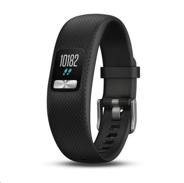 Garmin monitorovací náramek a hodinky vívofit4 Black (velikost S/M)