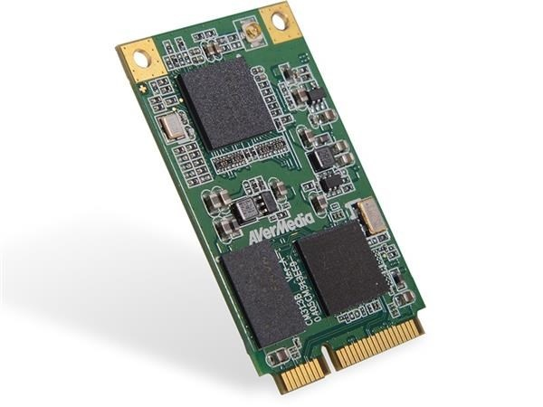 AVERMEDIA CM313BW Mini PCI-e HW Encode Capture Card with 3G-SDI, industrial