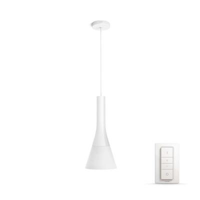 PHILIPS Explore Závěsné svítidlo, Hue White ambiance, 230V, 1x9.5W E27, Bílá