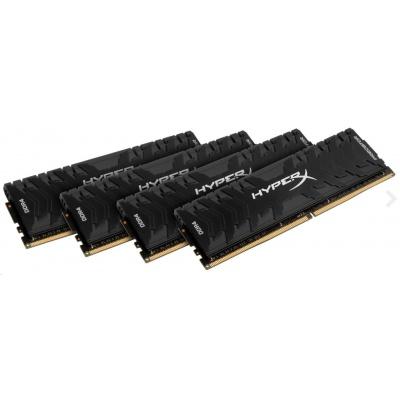 DIMM DDR4 32GB 3333MHz CL16 (Kit of 4) KINGSTON HyperX Predator
