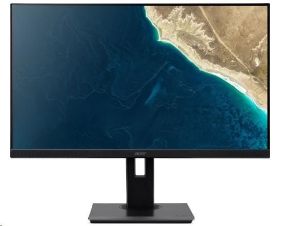"ACER LCD B247WBMIPRZX - 24""(61cm), 100M:1, 300cd/m2, 178°/?178°, 4ms, HDMI, DP, USB, black,3r on-site"